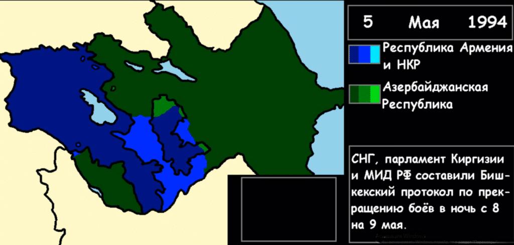Итог Карабахской войны 1991-94